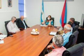 Coordinan tareas viales con juntas y comunas del departamento Uruguay