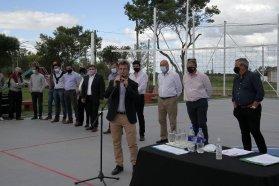 Quedó inaugurado el nuevo Playón Multideportivo de la localidad de Herrera