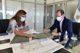 Bordet monitorea la marcha y gestiona financiamiento para obras viales