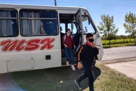 El Becario controló la prestación del transporte escolar rural en el departamento Paraná