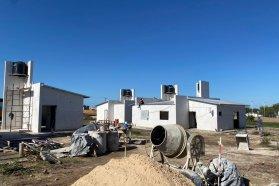 Con fondos provinciales se ejecutan nuevas viviendas en tres localidades entrerrianas