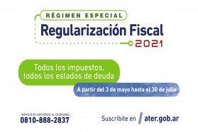 Comienza el Régimen de Regularización Fiscal 2021