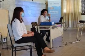 El Becario dictó tres talleres de orientación vocacional en Lucas González