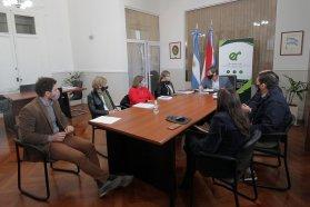 Planeamiento analiza y trabaja en forma aspectos esenciales del ordenamiento territorial de la provincia de Entre Ríos