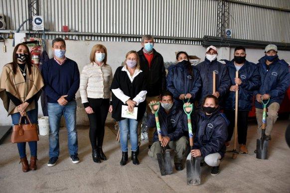 El gobierno provincial fortalece el desarrollo de huertas orgánicas en el territorio entrerriano