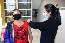 Esta semana se aplicaron más de 16.000 dosis de vacuna contra el Coronavirus