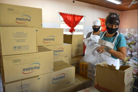 La provincia continúa garantizando la asistencia alimentaria a niños, niñas y adolescentes entrerrianos