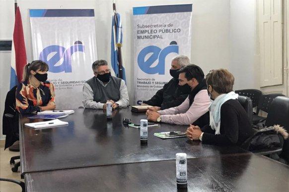 Se pone en agenda la jerarquización del empleo municipal