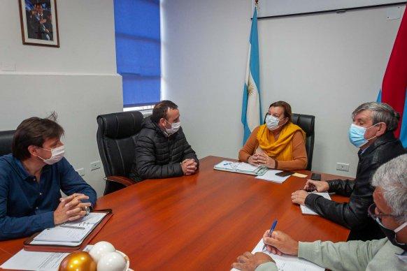Planifican tareas viales en Pueblo Brugo