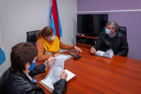 Articulan tareas viales para zonas productivas de Paraná Campaña