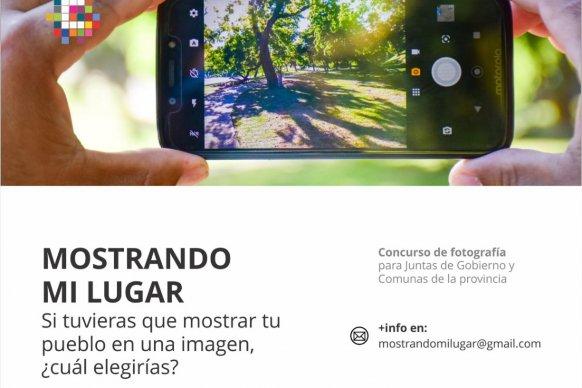Se lanzó un concurso fotográfico para Juntas y Comunas