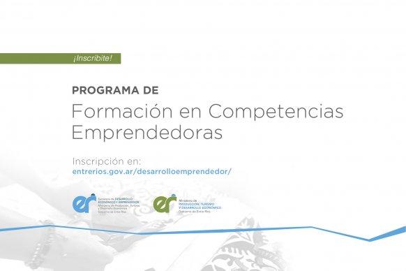 Se lanzó el Programa de Formación en Competencias Emprendedoras