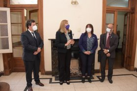 Adriana Pérez asumió al frente de la Secretaría de Justicia