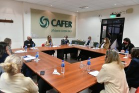 Stratta se reunió con cooperativas agrarias por la implementación de la Ley de Paridad Integral