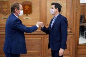 Bordet se reunió con tres ministros nacionales y concretó obras e inversiones para Entre Ríos