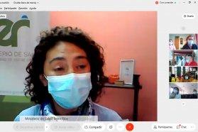 Salud desarrolló un conversatorio interdisciplinario en la Semana del Parto Respetado