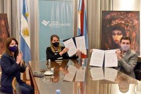 La Vicegobernación y la Uader firmaron un convenio de colaboración para profundizar políticas de género
