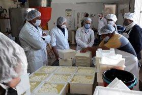 La provincia apoya las capacitaciones en buenas prácticas para la elaboración de quesos