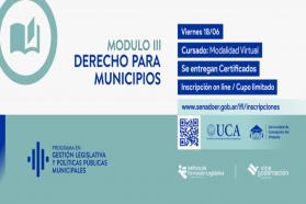 La Vicegobernación habilita un nuevo módulo de capacitación para gobiernos locales