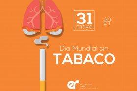 Realizan actividades en el Día Mundial sin Tabaco