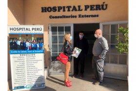 Pusieron en funciones a nuevos directores en los hospitales de Galarza y Villa Elisa