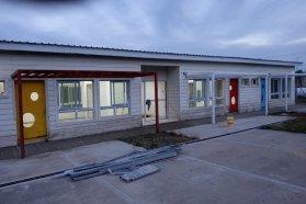 Avanzan las tareas de terminación del edificio para la Unidad Educativa de Nivel Inicial de Chajarí
