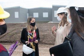 El gobierno provincial promueve la incorporación de mujeres al ámbito de la construcción