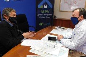 Se trabaja en la construcción de nuevas soluciones habitacionales para tres localidades