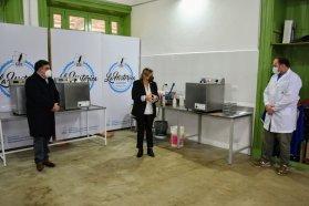La provincia acompañó la puesta en marcha de una pasteurizadora láctea en Concepción del Uruguay