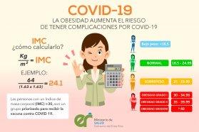 Obesidad y vacunación Covid-19