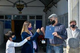 El Gobierno provincial entregó aporte al Tiro Federal de Paraná