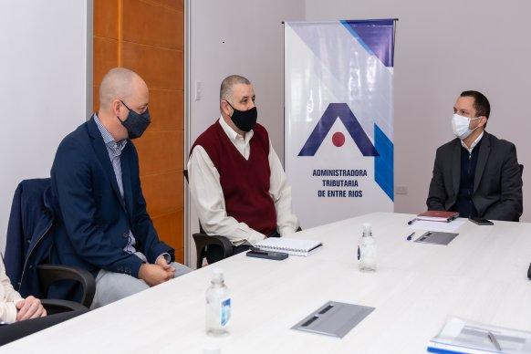 ATER y el Consejo Profesional de Ciencias Económicas ratificaron la agenda de trabajo conjunta
