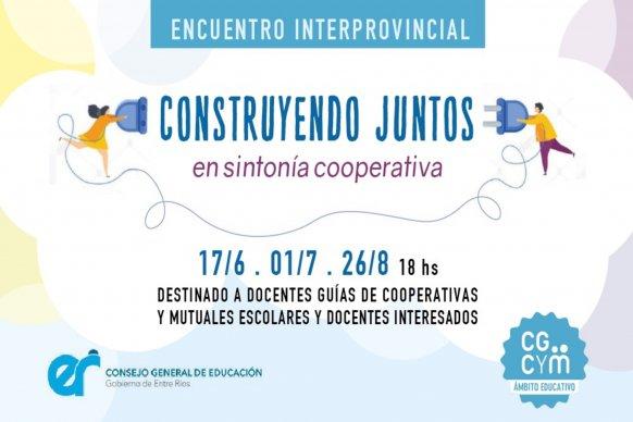 Se pone en marcha el Encuentro Interprovincial de Cooperativismo y Mutualismo Escolar