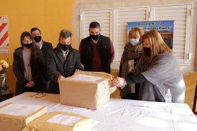 Se abrieron los sobres de la licitaciòn para la ampliación de la escuela de Pronunciamiento