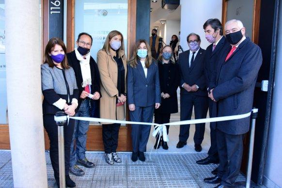 El gobierno provincial acompañó la inauguración del anexo de la Unidad Fiscalía de Género de Paraná