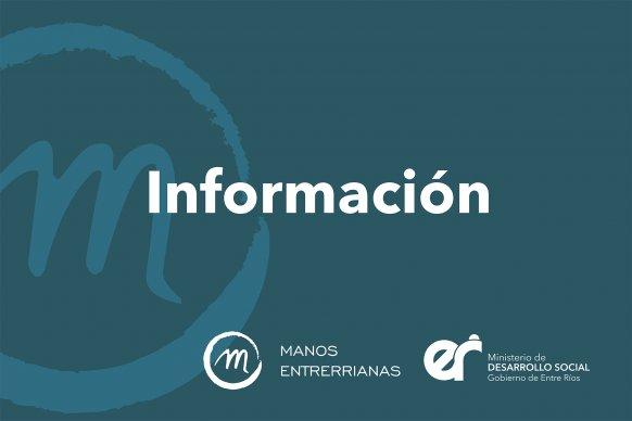 Hasta el  5 de julio se extiende la convocatoria a emprendedores entrerrianos para sumarse a Manos Entrerrianas