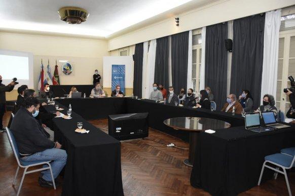 Con el acompañamiento provincial, Concordia conformó la Mesa de Primera Infancia