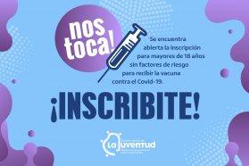 Convocan a los jóvenes entrerrianos mayores de 18 a vacunarse contra el Covid-19