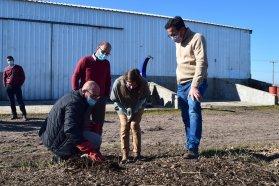 La provincia avanza en la gestión de cuestiones productivas y ambientales con comunas del departamento Uruguay