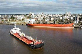 El puerto de Concepción del Uruguay activa el sistema multimodal de cargas