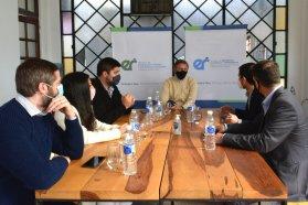 La provincia fortalece vínculos con cámaras de jóvenes empresarios