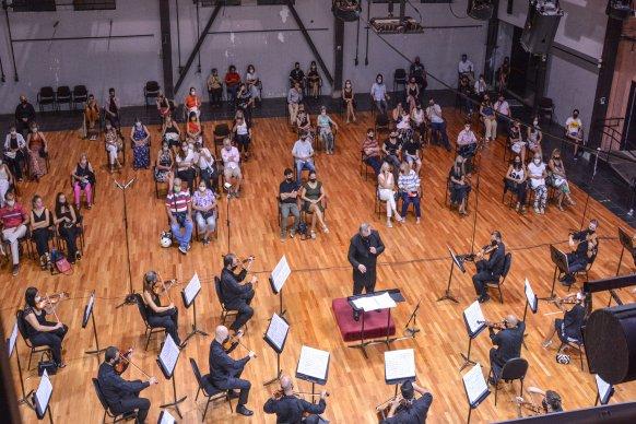 La Sinfónica de Entre Ríos realizará concierto en el Centro Provincial de Convenciones