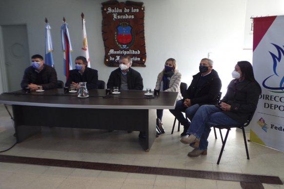 El gobierno provincial acompaña las instituciones deportivas del departamento Federación