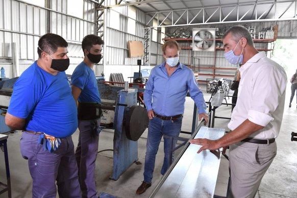 Bordet destacó el crecimiento del empleo privado y registrado en Entre Ríos durante el último año