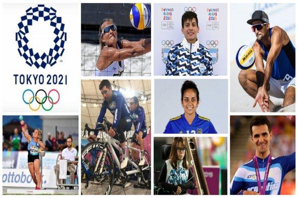 La provincia tiene sus representantes en los Juegos Olímpicos de Tokio 2021