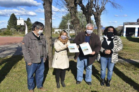 """Se presentó en Pueblo Liebig el programa de Cafesg """"Barrios y Pueblos de la región de Salto Grande"""""""