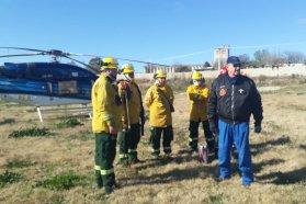 Desplegaron nuevo operativo de combate del fuego en Islas del Delta del Paraná
