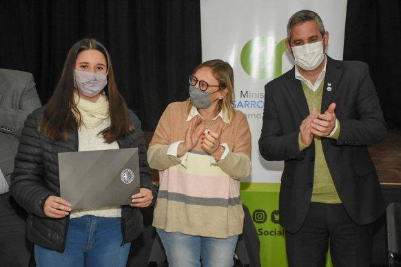 Nación, provincia y municipio entregaron aportes a emprendimientos de la economía social en Colón