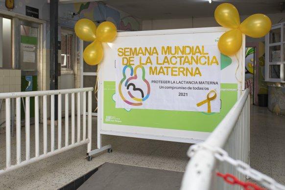 Se celebra en Entre Ríos la Semana de la Lactancia Materna 2021