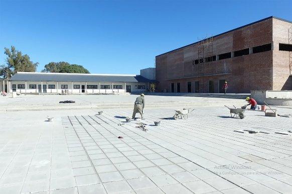 El nuevo edificio de la escuela Domingo French de La Paz tiene un 86 por ciento de ejecución